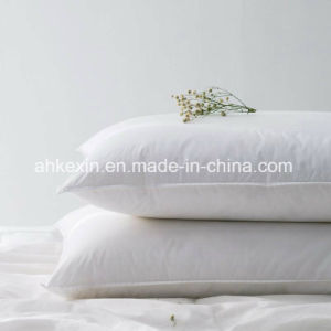 Soft 2-4cm White Duck Feather Bed Pillow pictures & photos