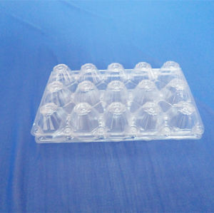 15 Cells PVC Blister Packing Box for Eggs Clear Blister Tray for Eggs pictures & photos