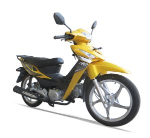 100/110cc Cub Alloy Wheel One or Double Clutches Motorcycle (SL110-B) pictures & photos