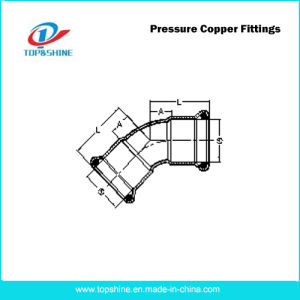 UK Standard Prefessional Pressure Copper Fittings pictures & photos