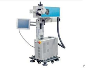 CO2 Flying Laser Marking Machine for Serial Numbers Bar Code pictures & photos