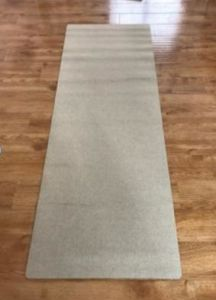 Natural Jute Yoga Mat with Printing