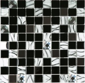 Decoration Material Wall and Floor Tile Glass Mosaic pictures & photos