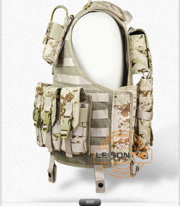 Tactical Mesh Vest with Magazine Pouches Camouflage Hunting Vest pictures & photos