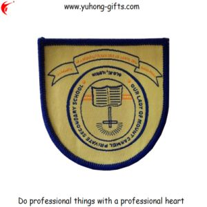 OEM Clothing School Woven Uniform Patch (YH-WB044) pictures & photos
