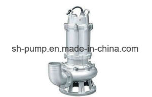 Wq Types Transferring Anti-Winding Wastewater Pump pictures & photos