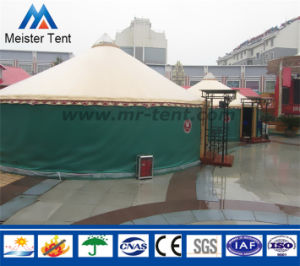 Luxury Aluminum Frame Restaurant Loge Mongolian Yurt Tent with AC pictures & photos