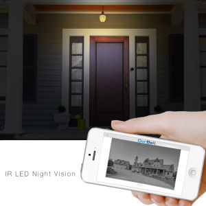 2016 Newst Escam Doorbell Qf600 WiFi Mini IP Camera HD P2p Indoor Surveillance Night Vision Security CCTV Camera with TF SD Card