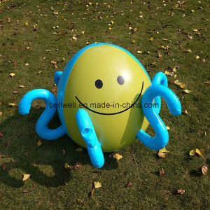 6p PVC Material Promotion Beach Toys Inflatable Christmas Beach Ball pictures & photos