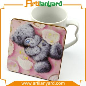Custom Design Eco-Friendly Cup Coaster pictures & photos