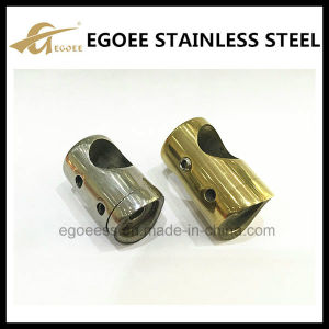 Gold Polish Stainless Steel Balustrade Bar Holder pictures & photos