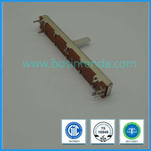 30mm Travel Stereo Dual Slide Potentiometer B10k, B100k, for Amplifier, Mixer pictures & photos