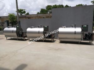 Directly Horizontal Milk Cooling Tank pictures & photos