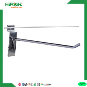 Single Wire Metal Display Slatwall Hook pictures & photos