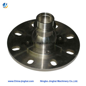 CNC Machining Precision Around Stainless Steel Flange of Laser Equipments pictures & photos