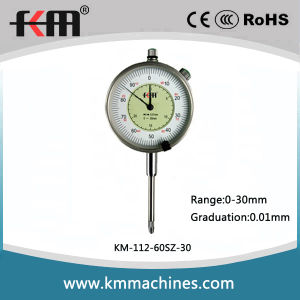 Quality Mechanical Dial Indiator Gauge with 0.01mm Read out pictures & photos