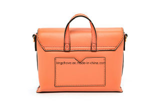 Fashionable Designer Ladies Handbag with Contrast Painting (KCHA035) pictures & photos