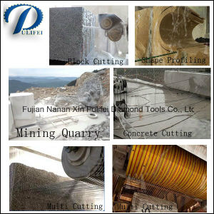 Stone Cutting Wire Saw Diamond Wire Saw for Stone Slab Reinforce Concrete pictures & photos