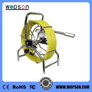 Wopson Color Sewer Camera System with Self Leveling Camera and 60m Push Wire pictures & photos
