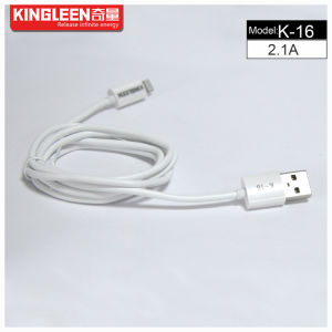 Kingleen Model K-16 iPhone6 Data Cable 1.2m 2.1A for iPhone pictures & photos