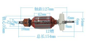 Power Tool Spare Parts (Armature for Bosch GWS 6-100 use) pictures & photos