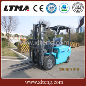 Best Price 3 Ton 3.5 Ton Electric Forklift for Sale pictures & photos