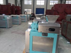 Low power fertilizers double roller compactor/extruder/pellet machine pictures & photos