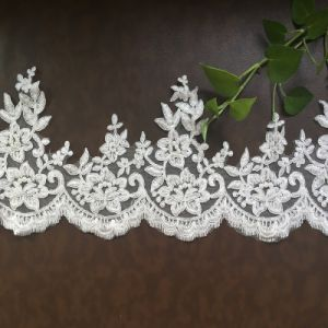 Beads Bridal Lace Trim for Wedding Dress