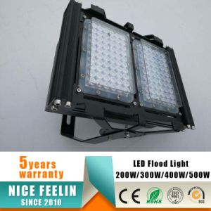 100lm/W AC90-305V 400W IP65 Outdoor LED Floodlight for Tunnel Lighting pictures & photos