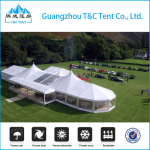 Luxury Mixstructure High Peak Tent for Outdoor Wedding Party Event pictures & photos