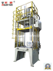 SGS Customized Hydraulic Trim Press with Robot pictures & photos