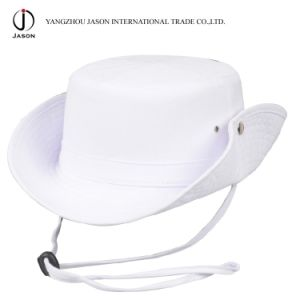 Cowboy Hat Cowboy Bucket Hat Hunter Hat Hunter Bucket Hat with Cord and Stopper Safari Hat Panama Hat pictures & photos