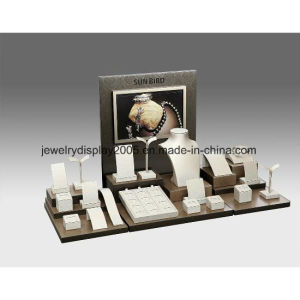 Canvas Display Set Showcase Counter Top Jewelry Display Stand pictures & photos