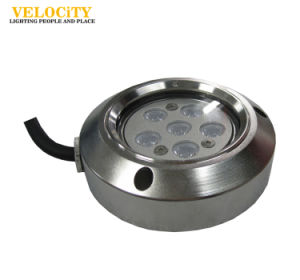 24V 6W IP68 RGB Stainless Steel LED Boat Light Ce Approved