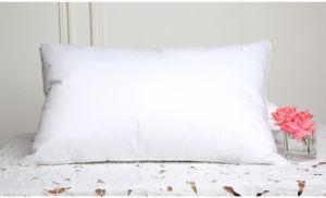 400 Tc Silk Cotton Covery 95% White Goose Down Pillow pictures & photos