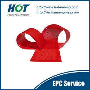 Wear Resistant PU Mesh Polyurethane Vibrating Screen Panel pictures & photos