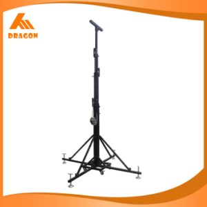 Aluminum Truss Lift Tower, Black Elevator Tower pictures & photos