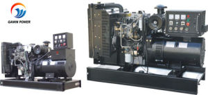 Silent/Open Type Diesel Generator Set with Perkins Engine pictures & photos
