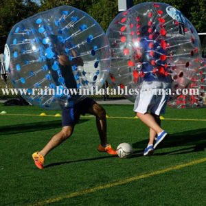 Hot Human Soccer Bubble Ball, Inflatable Body Bumper Ball pictures & photos