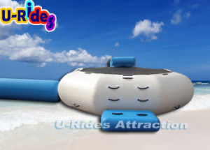 Inflatable Water Trampoline with Slide and Log pictures & photos