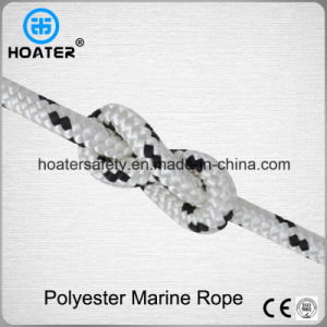Halyard Braided Polyester Boat Sailing Rope Marine Rope 10mm pictures & photos