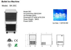 New Exclusive Bullet Ice Making Machine with ETL Certificate pictures & photos