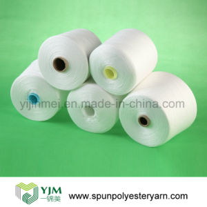 High Strength Multi Ply Thread / Spun Polyester Yarn pictures & photos