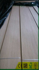 Natural Wood Veneer QC White Oak for Furniture, Decoration, Boards pictures & photos