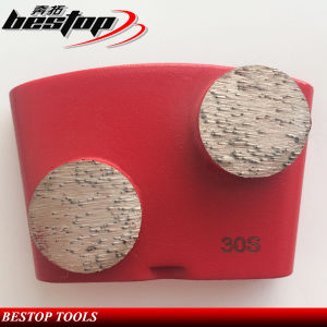 30 Grit Metal Bond Grinding Shoes with Double Segments pictures & photos