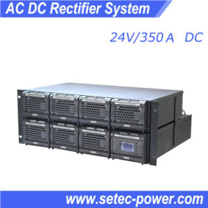Telecom Power Rectifier System, 24V 350A AC DC Dual Input (SET24350) pictures & photos