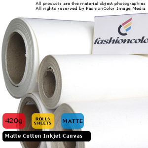 Matte Cotton Canvas 420GSM