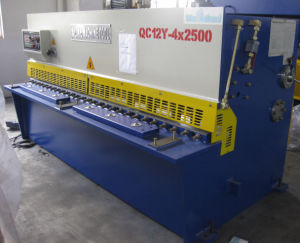 Hydraulic Shearing Machine (QC12Y 4X2500) pictures & photos