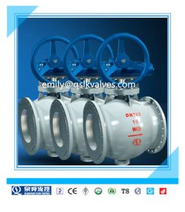 Full Bore Bq340h Hot Sale Factory Price Made in China Hard Seal Flange Semi Ball Valve pictures & photos