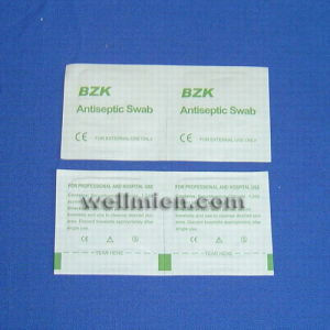 Disposable Medical Bzk Antiseptic Swab pictures & photos